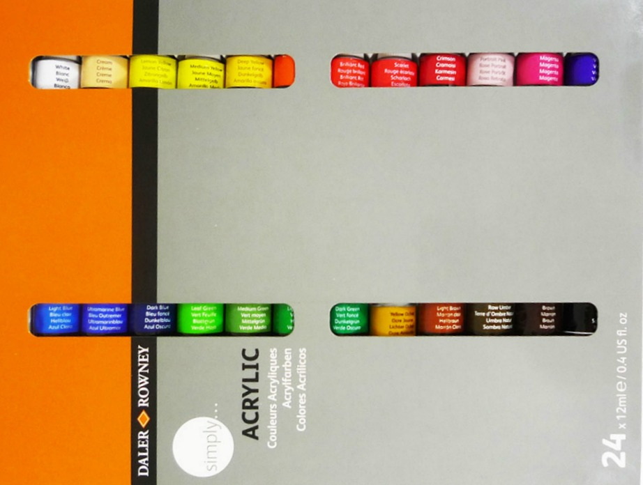 Draw Me A Painting: Product Review: Daler Rowney Simply Acrylic