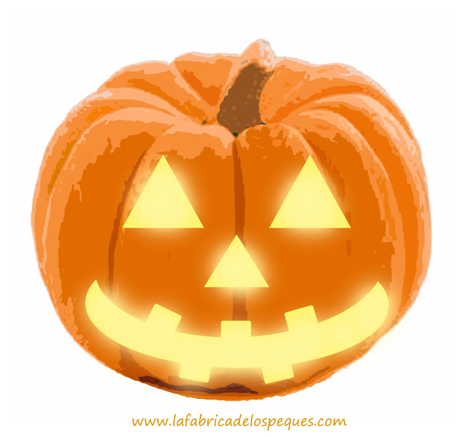 Plantillas e imprimibles gratis para halloween calaveras - Calabazas halloween originales para ninos ...