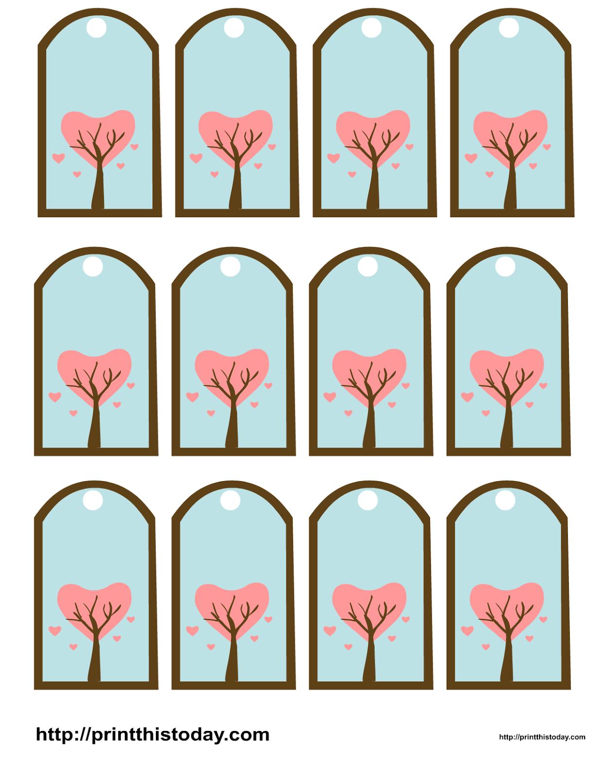 Amor. Imprimibles para San Valentín. | Ideas y material gratis para