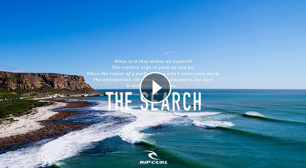 Official Teaser The Search by Rip Curl
