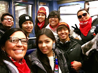 Lummi Youths in Paris for Canoes 2 Paris!