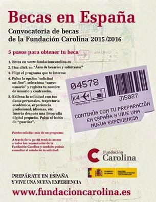 Becas Fundación Carolina 2015-16, Literaturas Hispánicas UAM