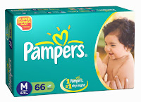 Buy Pampers Baby Dry Large Size Diapers (18 Count) at  Rs. 184 only at Amazon.