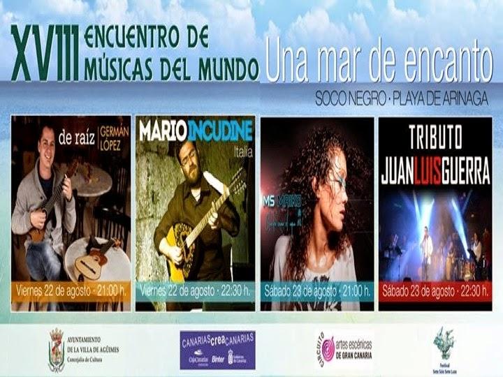 XVIII Encuentro de Músicas del Mundo Una mar de encanto