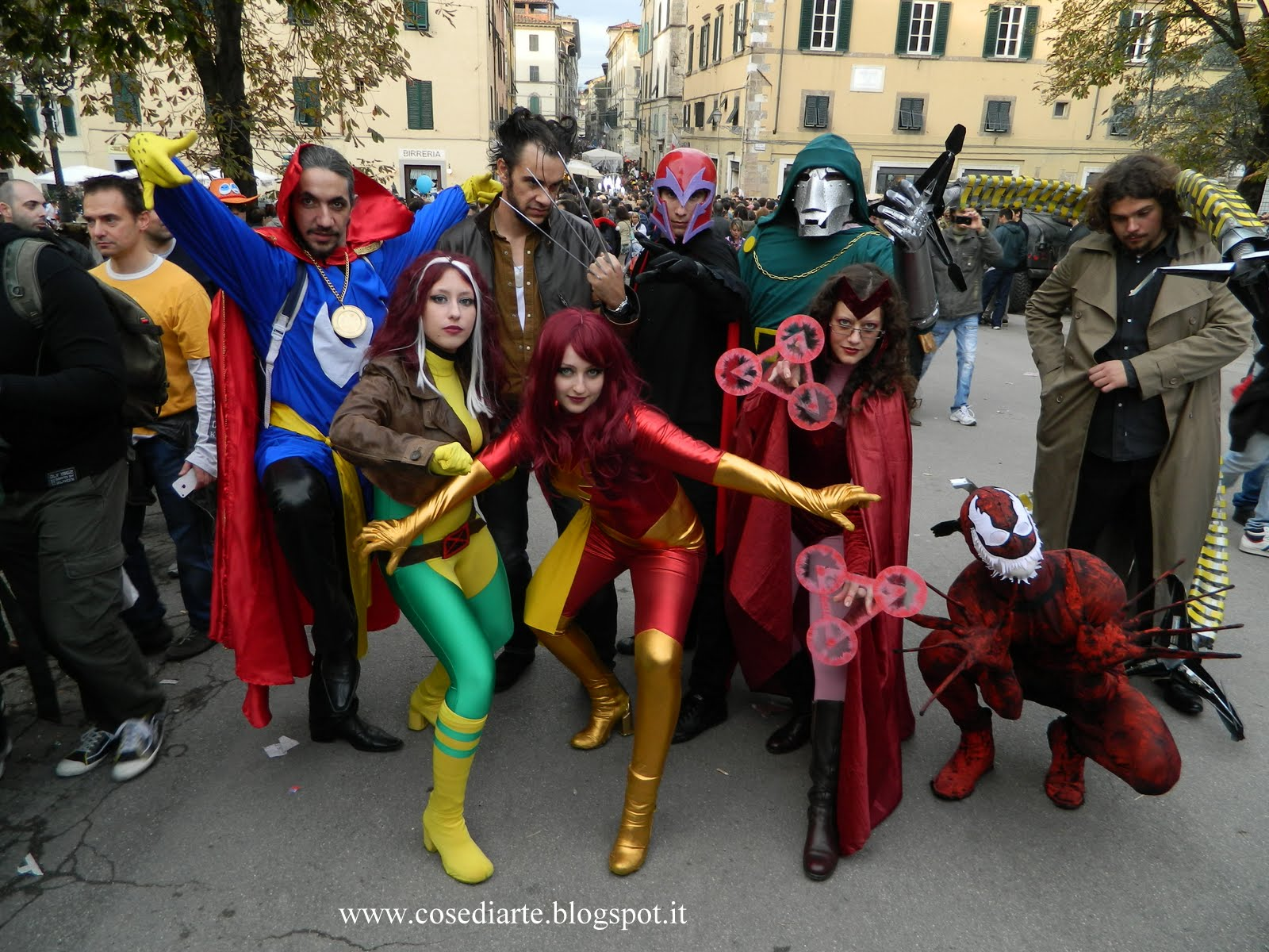 Marvel Cosplay Group