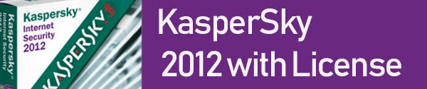 KASPERSKY 2012 WITH LICENSE