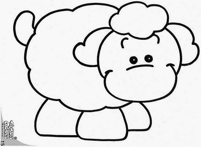 Maestra de Infantil: Dibujos infantiles de animales para colorear
