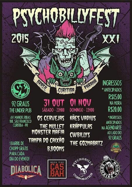 21º Psychobilly Fest - Divulgado Line-up!