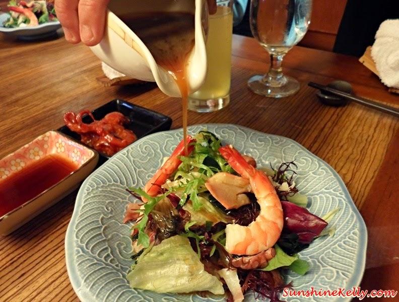 Genji Japanese Restaurant, Hilton Petaling Jaya, Osaka Tokyo Menu, Japanese Food, Tokyo Salad