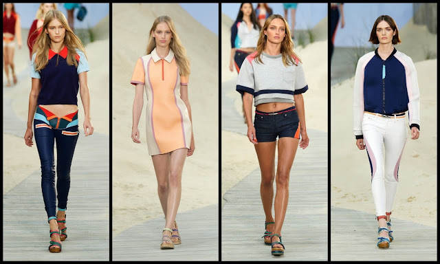 Spring 2014 Collection by Tommy Hilfiger.