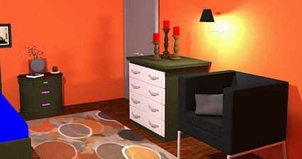 orange bedroom escape 1001 juegos orange bedroom escape