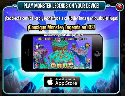 imagen de monster legends ios