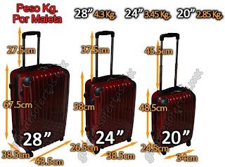 Le moniq voyage medidas de maletas - Medidas maletas de cabina ...