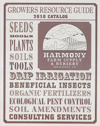 "Harmony Farm Supply's ""Growers Resource Guide"""