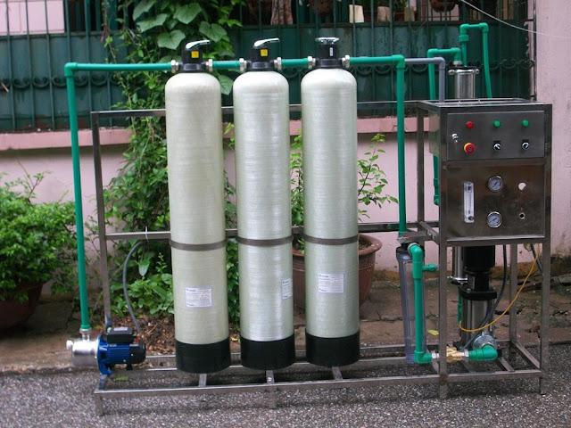 Dây chuyền lọc nước tinh khiết tại Thanh Hóa