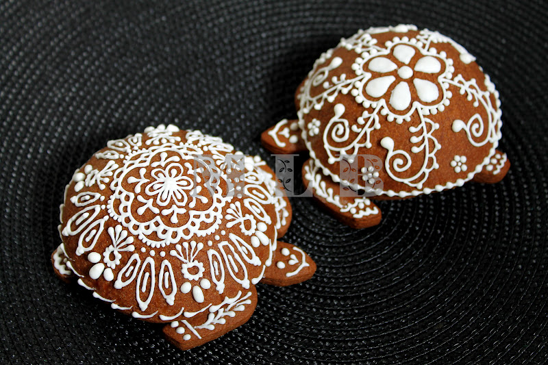My little bakery 🌹: Turtle cookies...
