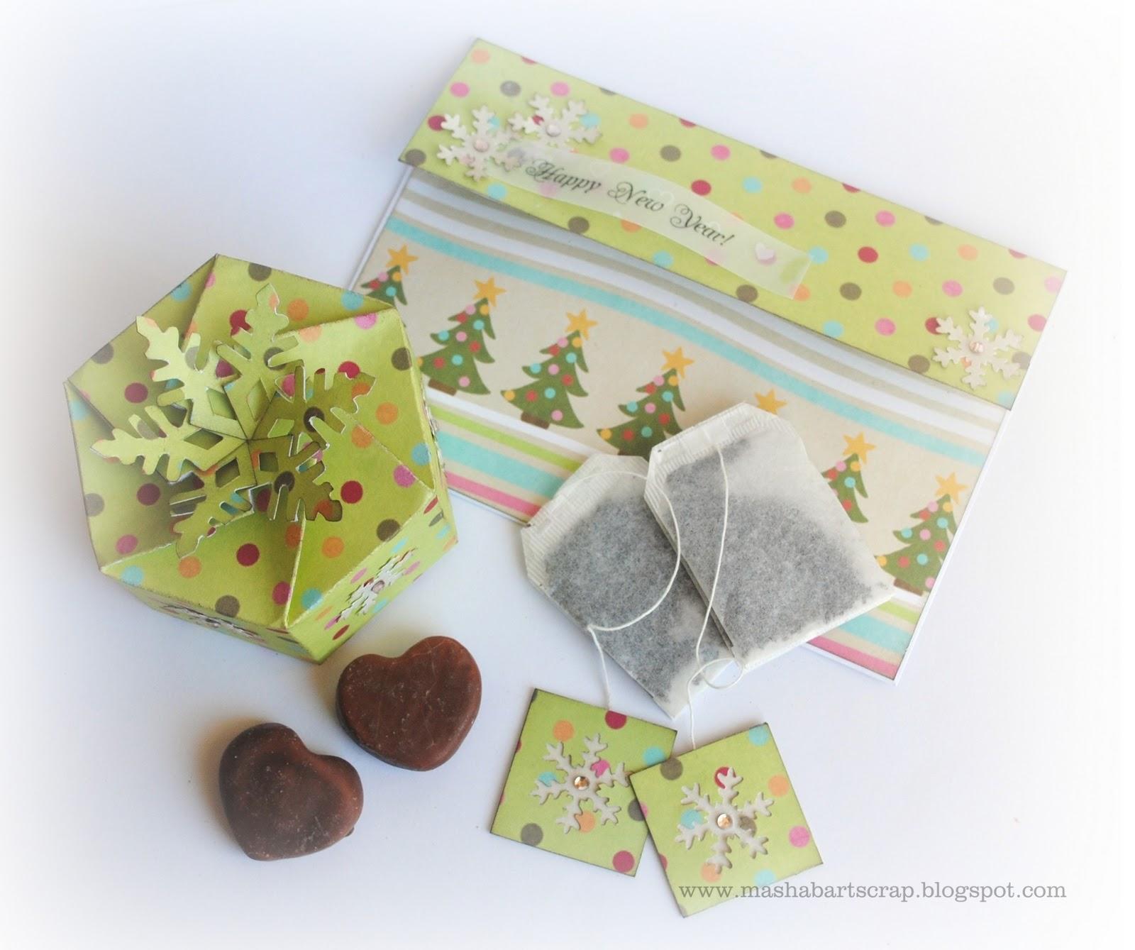 Как сделать конвертик на чайный пакетик