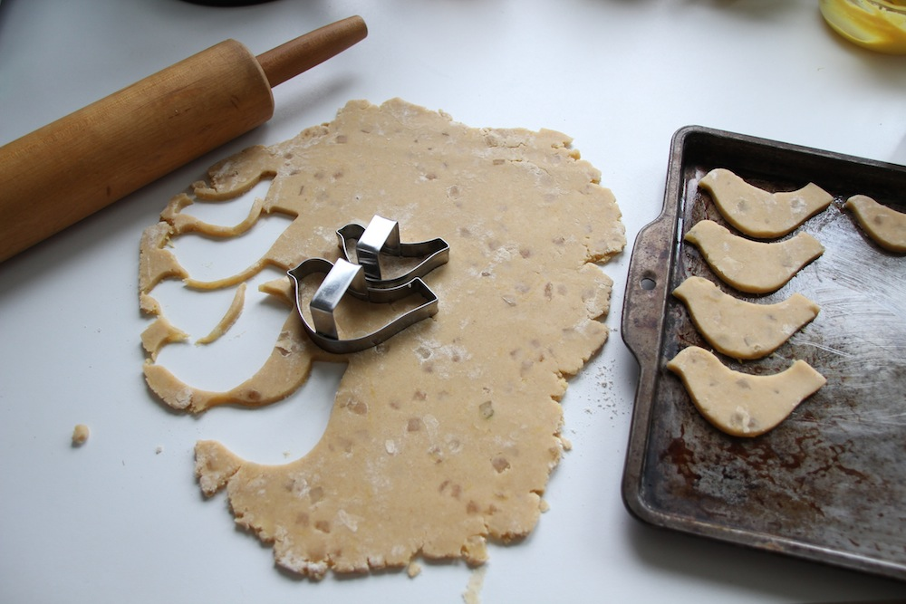 Kitchen Vignettes by Aubergine: Honey Lemon Spelt Shortbread