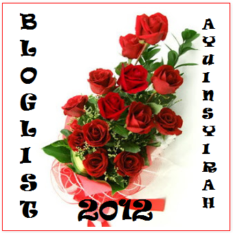 Jom Join BLOGLIST AyuInsyirah tahun 2012
