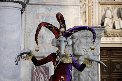 Velencei karnevál és az elefánt