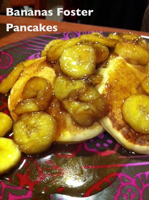 Katy's Kitchen: Bananas Foster Pancakes