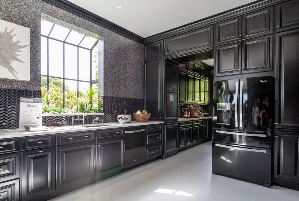 All Black Kitchen Fiorito Interior Design The Black Kitchen