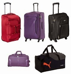 Strolly, Bags, Suitcases @ Amazon: Flat 50% Off (Deal Price Starts Rs.1000)