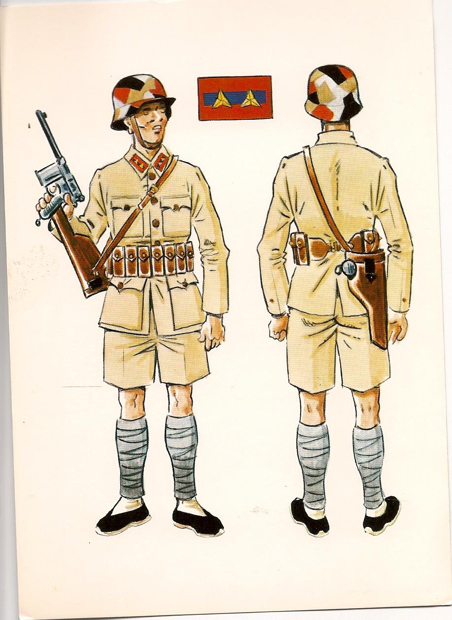 Parches uniformes de la Segunda Guerra Mundial