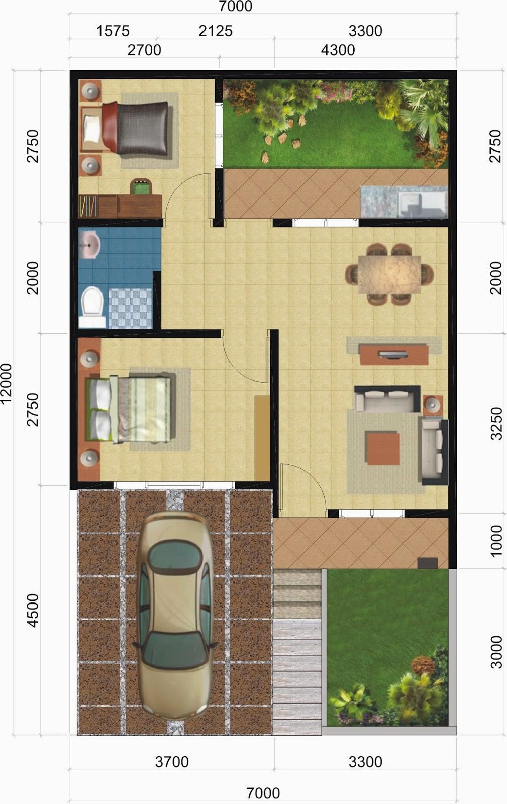 gambar desain rumah kecil, model rumah kecil