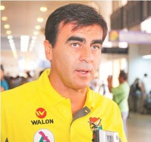 """Gustavo Quinteros: """"Si le ganamos a Colombia cumplimos el objetivo del año"""""""