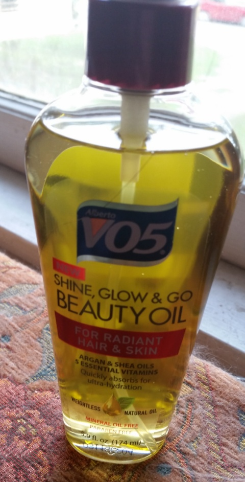 alberto vo5 shine glow and go oil