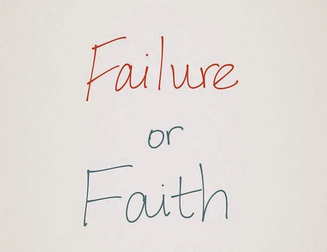 "Graphic of ""Failure of Faith"""