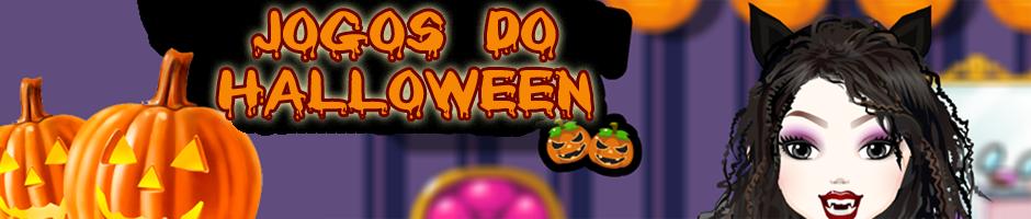 jogos de vestir para o Halloween