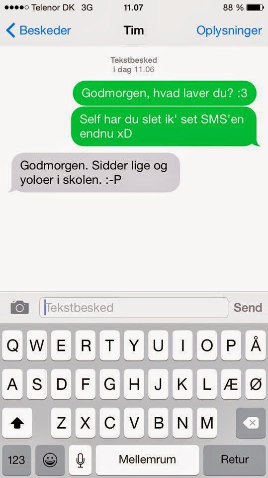 hvad betyder sms tegn
