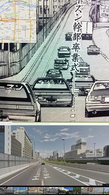 Naniwa Tomoare, Azawa, manga, kanjo