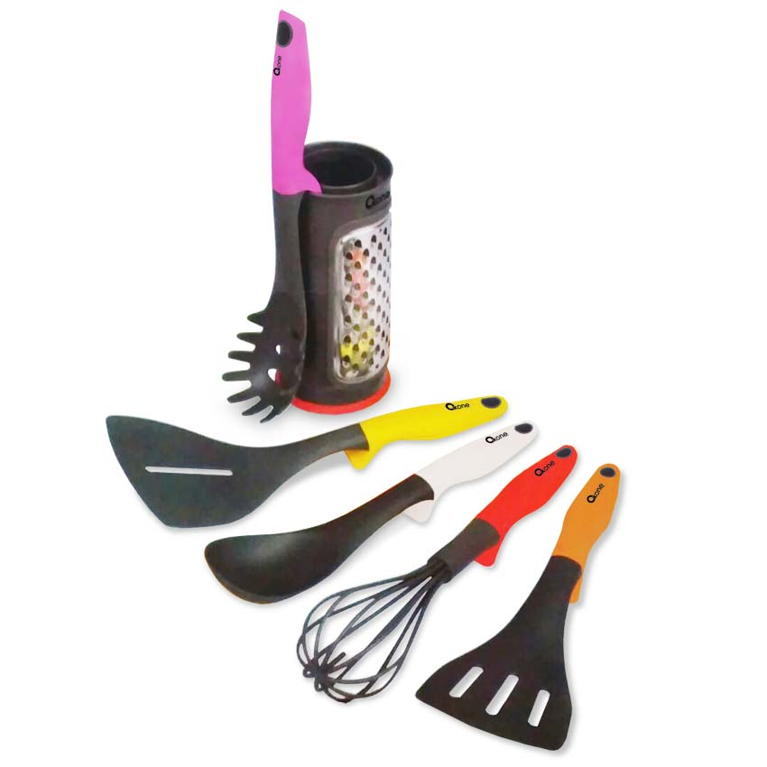 OX-956 Oxone Rainbow Kitchen Tools with Pot