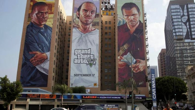 Grand Theft Auto, Grand Theft Auto five, electronic games, Take-Two Interactive, Rockstar, company, Grand Theft Auto 5, Playstation 4, Xbox 360, Xbox One, Playstation 3 platforms Games, platforms, Minecraft, Wii Sports, Tetris, 45 million units, PC games, Grand Theft Auto news,