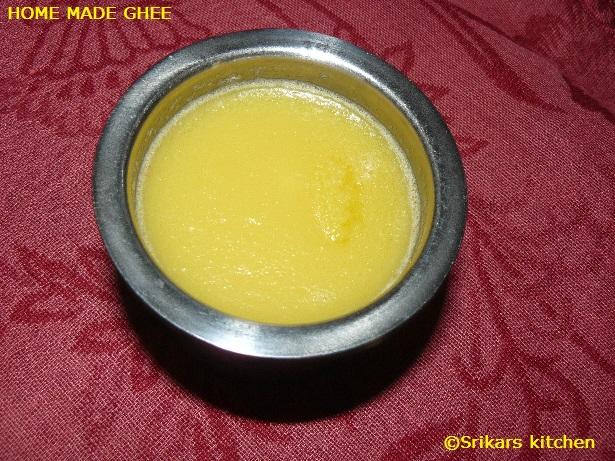 DESI GHEE - HOME MADE GHEE-CLARIFIED BUTTER