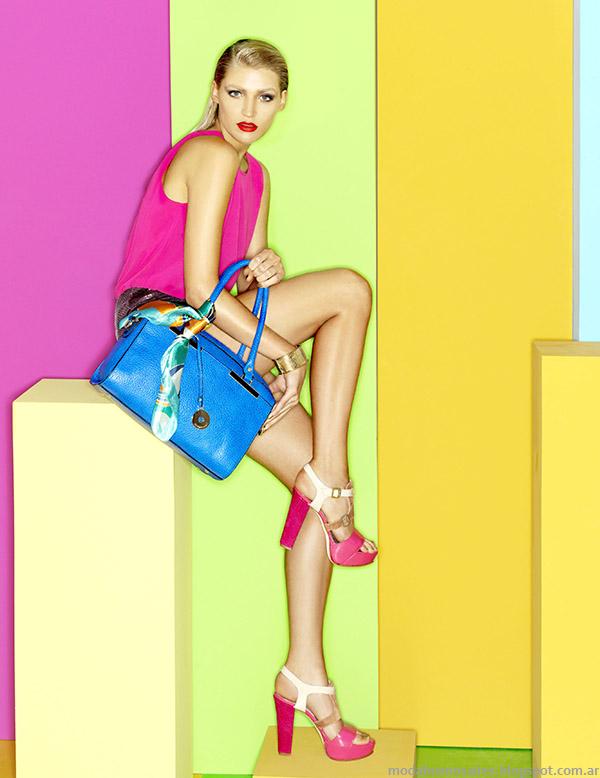 MODA. Carteras y zapatos de moda primavera verano 2015. Carla Danelli primavera verano 2015.