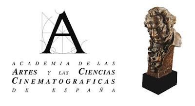 Candidatos a los Premios Goya 2012