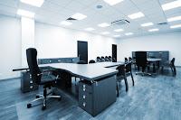 modern grey office