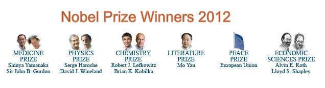 The Nobel Prize in Chemistry 2012