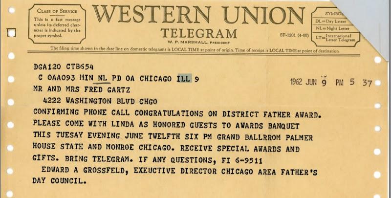 The telegram essay