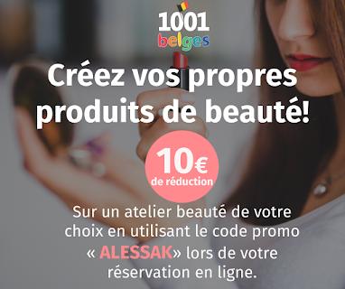 Réduction sur les ateliers 1001 Belges