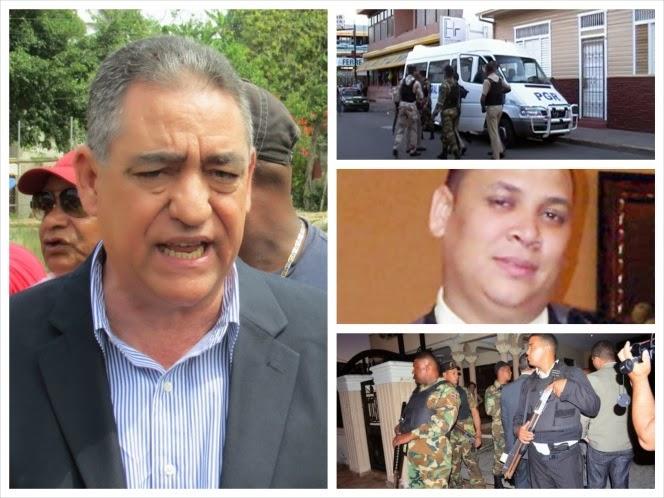 Tropas persiguen Alcalde y otros funcionarios Ayuntamiento SFM
