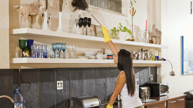 Giữ ngôi nhà sạch sẽ, vệ sinh sẽ giúp mang lại vận khí tốt cho năm mới 2016