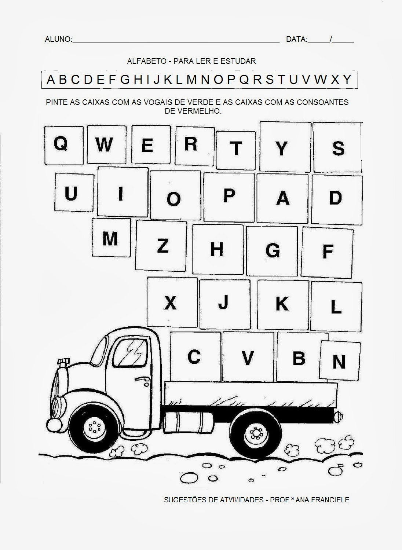 Populares ATIVIDADES PARA EDUCAÇÃO INFANTIL: atividades letras v,w, x, y, z  GI31