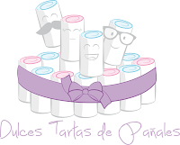 Y si quieres conocer mis Dulces Tartas de Pañales.....