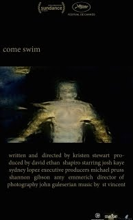 Watch 'Come Swim'. Click image.