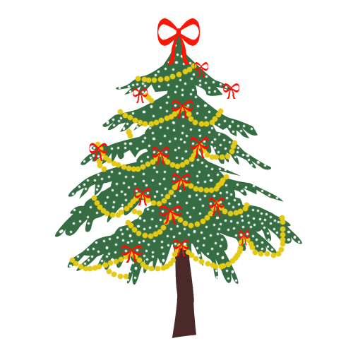 News Magazine: christmas tree clip art
